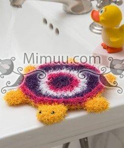 Kaplumbağa Banyo Lifi Yapılışı