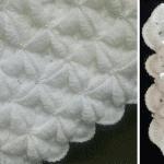 Farklı Motif Birleştirmeli Bebek Battaniyesi Yapılışı 13
