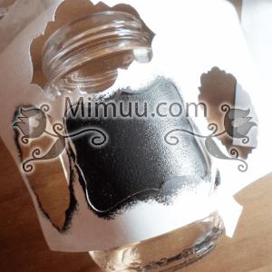 Kara Tahta Boyası İle Etiket Nasıl Yapılır ? 12