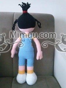 Agnes Minyon Amigurumi Bebek Örgü Şeması 1