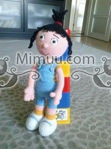 Agnes Minyon Amigurumi Bebek Örgü Şeması 2