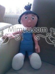 Agnes Minyon Amigurumi Bebek Örgü Şeması 3
