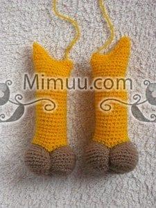 Amigurumi oyuncak benekli zürafa – 10marifet.org | 300x225