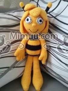 Arı Maya Amigurumi Oyuncak