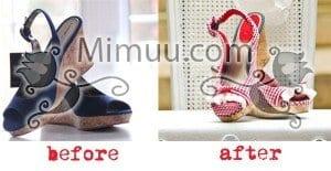 DIY Ayakkabı Yenileme