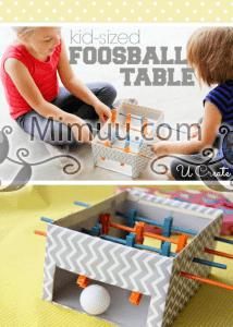 DIY Mini Langırt Masası 9