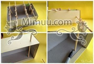 DIY Mini Langırt Masası 10