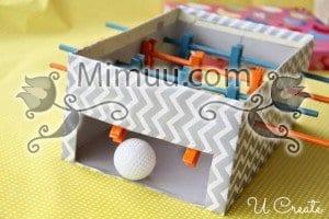 DIY Mini Langırt Masası 1
