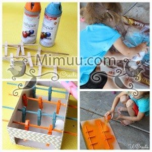DIY Mini Langırt Masası 5