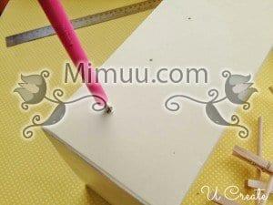 DIY Mini Langırt Masası 7