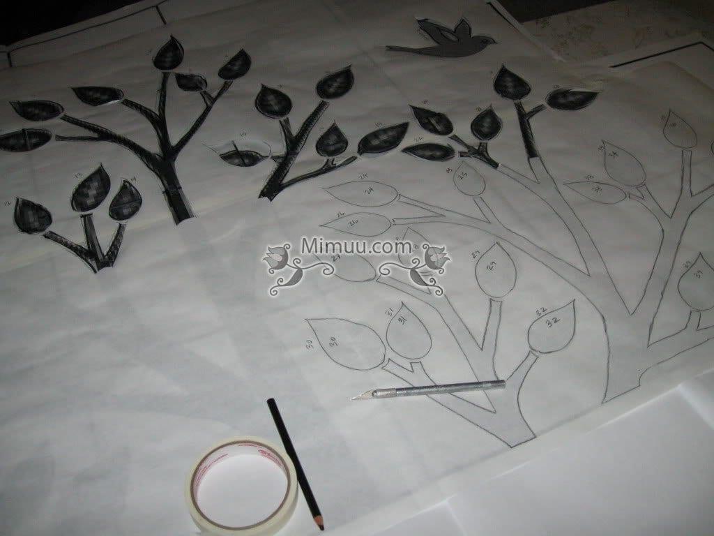 Desenli Duvar Boyama Teknikleri Mimuucom