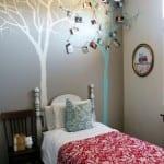 Duvarda Ağaç Boyama 11