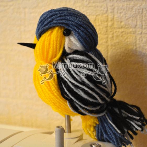 Yün İpi ile Kuş Yapma Fikri