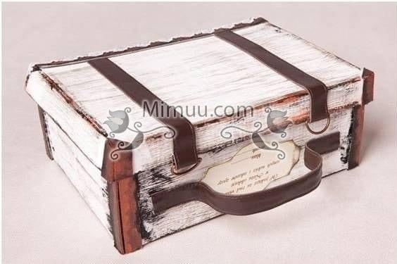 Karton Kutu Kaplama Süsleme Mimuucom
