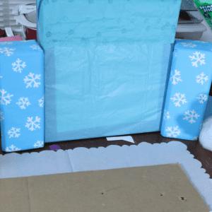 Karton Kutudan Kale Yapılışı