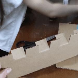Karton Kutudan Kale Yapılışı 5