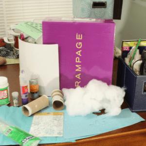 Karton Kutudan Kale Yapılışı 7