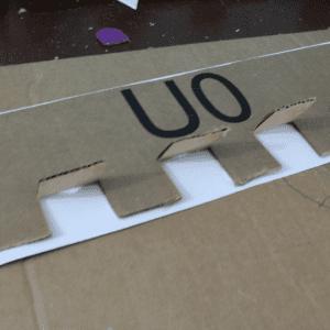 Karton Kutudan Kale Yapılışı 8