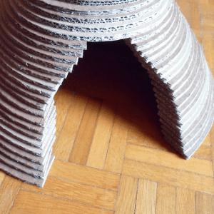Kartondan Kedi Evi Nasıl Yapılır ? 9