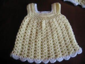 Kolay Bebek Elbisesi Yapılışı 1