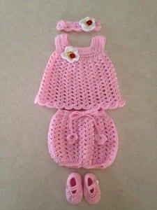 Kolay Bebek Elbisesi Yapılışı 3