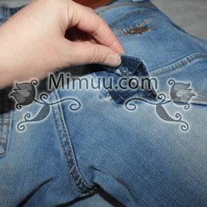 Kolay Jeans Cep Yaması Yapılışı 1