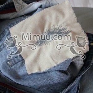 Kolay Jeans Cep Yaması Yapılışı 4
