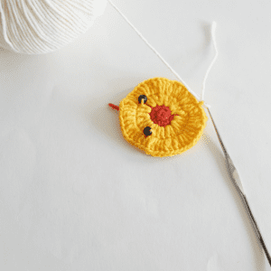 Örgü Ördek Bebek Battaniyesi Motifi Yapılışı 10