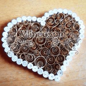 Quilling Kalp Kutu Yapılışı 13