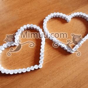 Quilling Kalp Kutu Yapılışı 7