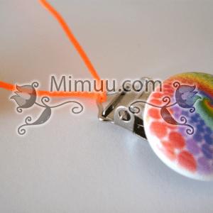 Renkli Emzik Tutucu Yapılışı 11