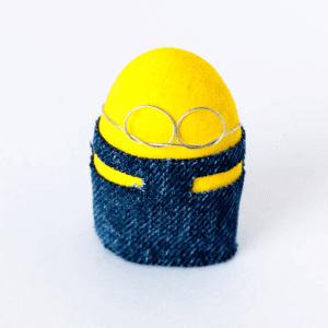 Taş Boyamadan Sevimli Minion Yapılışı 9
