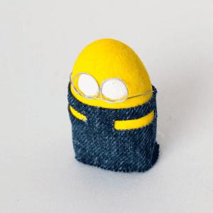 Taş Boyamadan Sevimli Minion Yapılışı 4