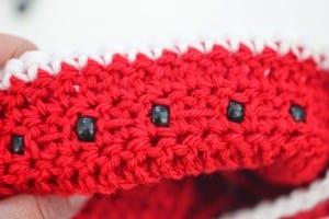 Tığ İşi Karpuz Şapka 5