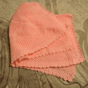 Tığ İşi Örgü Bebek Battaniyesi Yapılışı 2