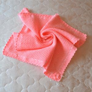 Tığ İşi Örgü Bebek Battaniyesi Yapımı