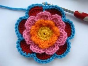 Üç Katlı Çiçek Yapılışı 30