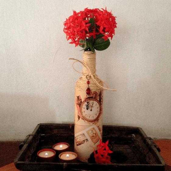 Vintage Eskitme Vazo Yapılışı