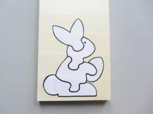 Ahşap Puzzle Tavşan Yapılışı 1