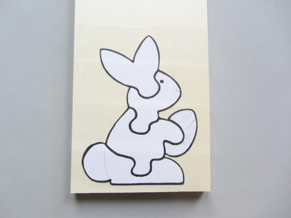 Ahşap Puzzle Tavşan Yapılışı Mimuucom