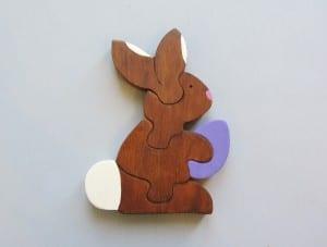 Ahşap Puzzle Tavşan Yapılışı