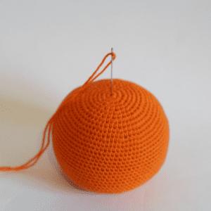 Amigurumi Bal Kabağı Yapılışı 5