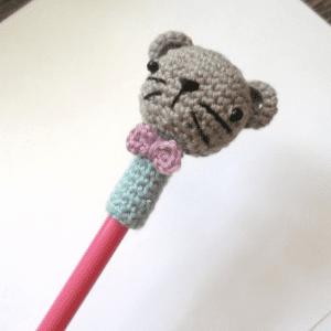 Amigurumi Kalem Süsü Yapılışı 10