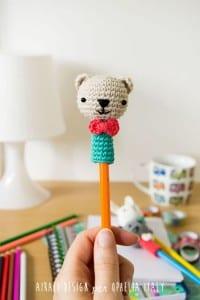 Amigurumi Kalem Süsü Yapılışı 15