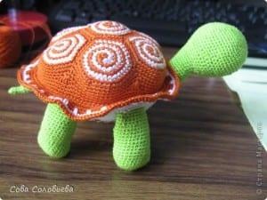 Amigurumi Kaplumbağa Yapılışı 24