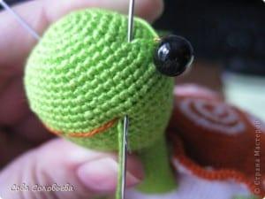 Amigurumi Kaplumbağa Yapılışı 27