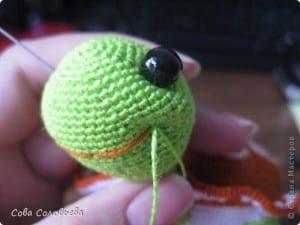 Amigurumi Kaplumbağa Yapılışı 28