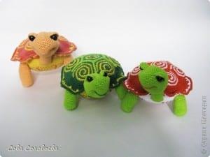 Amigurumi Kaplumbağa Yapılışı 2
