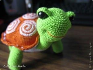 Amigurumi Kaplumbağa Yapılışı 32