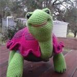 Amigurumi Kaplumbağa Yapılışı 33